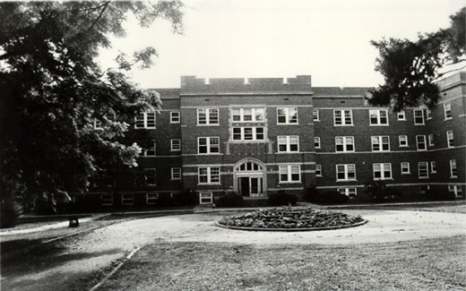 The Women's Residence Hall, which was built during the Teachers College years, was a home away from home for female students living on campus.  The Women's Residence Hall would be the site of a Northwest tragedy during the State College Years.