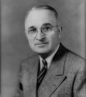 President Harry S. Truman visited the Northwest campus on several occasions.  He dedicated the opening of the Martin Pederson Armory, located on campus, on Feb. 20, 1955.  The armory was renamed in 2008 as the Jon T. Rickman Electronic Campus Support Center.