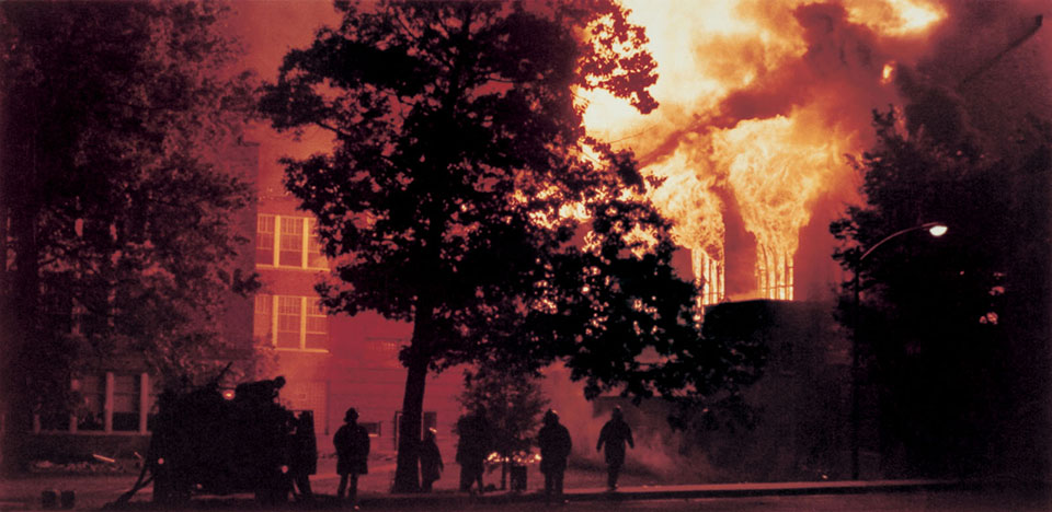 Northwest commemorates 40th anniversary of Administration Building fire, remodeling of KXCV studios