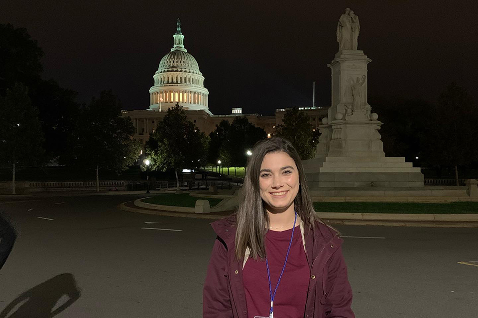 Moore travels to D.C. for National Student Leadership Forum